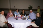 Gene and Judy Hartley Farrar, Patti Plymale Burgess, Glenda Moon Musset, Wayne and Sally Sharum.